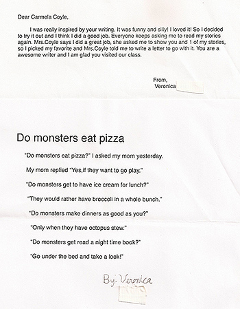 Do Monsters Eat Pizza